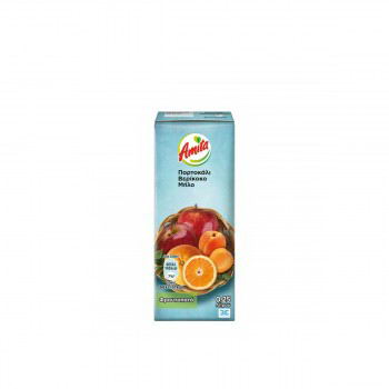 Amita orange apricot and apple 250ml