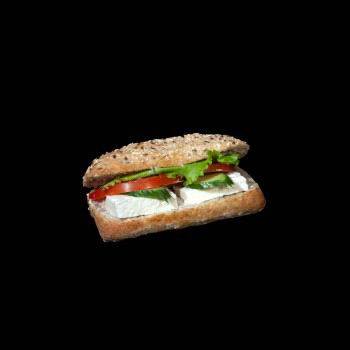 Multigrain bread with feta mini
